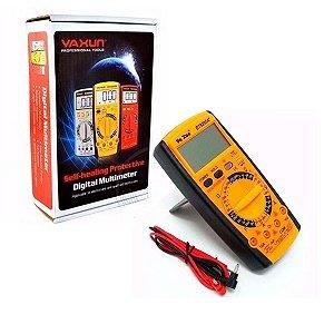 Multímetro Digital Portátil Yaxun YX-9205A