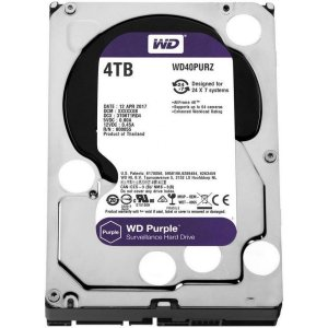 Hard Disk Westen Digital Purple 4TB DVR WD40PURZ