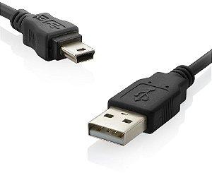 Cabo USB x Mini USB 0.8M