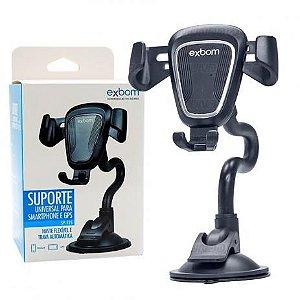 Suporte Veicular Universal Celular/GPS SP-T25 Exbom