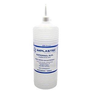 Álcool Isopropílico Bico Aplicador Implastec 1 Litro