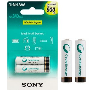 Pilha Recarregável AAA 900mAh Ni-MH Sony