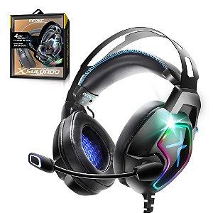 Headset Gamer 7.1 RGB PS4/PC/Smartphone GH-X8000 Infokit
