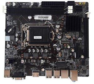 Placa Mãe BrazilPC 1155 H61 Micro ATX DDR3 BPC-H61C-V4