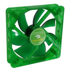 Cooler Fan 12mm Verde EGF-12 Evercool