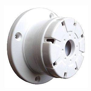 Sirene Piezo Elétrica Branca Parede/Teto 12V DNI-4204