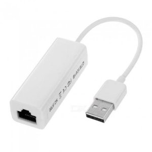Placa de Rede 10/100Mbps USB x RJ45
