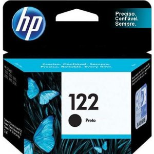 Cartucho Original HP 122 Preto 2ml CH561HB