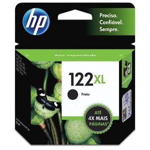 Cartucho Original HP 122XL Preto 8,5ml CH563HB
