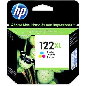 Cartucho Original HP 122XL Colorido 7,5ml CH564HB