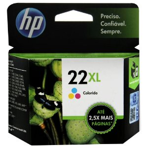 Cartucho Original HP 22XL Colorido 17ml C9352CB