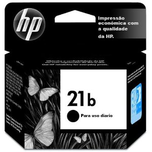 Cartucho Original HP 21b Preto 7ml C9351BB