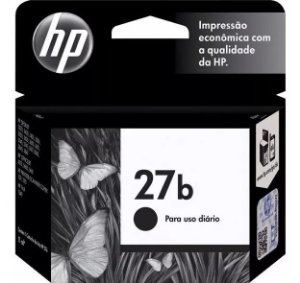 Cartucho Original HP 27b Preto 11ml C8727BB