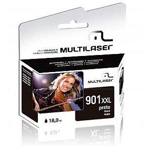 Cartucho Multilaser Compatível HP 901XXL