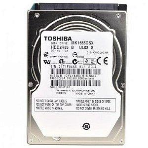"""Hard Disk Toshiba 160GB 2.5"""" Notebook SATA II"""
