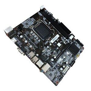 Placa Mãe BrazilPC 1150 BPC-B85 V2-K Micro ATX DDR3 Intel