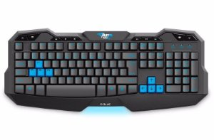 Teclado Gamer LED E-Blue Multimídia USB Mazer Type-G
