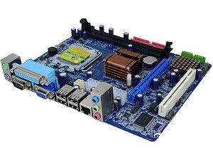 Placa Mãe GMI 775 G41CGL2 Micro-ATX Intel