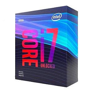 Processador Intel Core i7-9700KF Coffee Lake Cache 12MB 3.6GHz LGA 1151 BX80684I79700KF