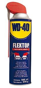 Lubrificante e Desengripante Aerosol 500ml SPRAY WD40 FLEXTOP