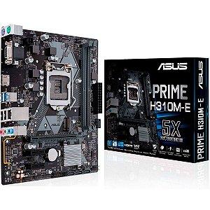 Placa Mãe Asus Prime ATX H310M-E R.2 DDR4 M.2 8ª Ger Intel