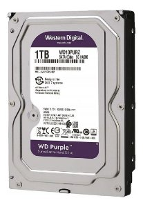 HD Purple Western Digital 1TB CFTV WD10PURZ