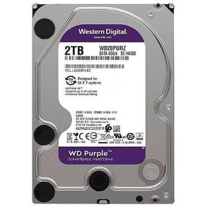 Hard Disk Western Digital Purple 2TB CFTV WD20PURZ