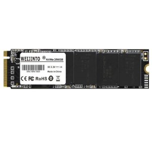 SSD 256GB M.2 NVME Leitura 2500MB/s Weijinto