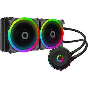 Water Cooler Gamemax Rainbow 120mm Preto RGB Rainbow