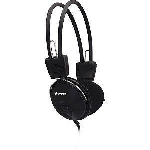 Headphone c/Microfone P2 Preto HS-312 Fortrek