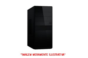 Computador Intel Pentium G2020 2.9GHz + Placa Mãe BrazilPC H61 + Memória 4GB DDR3 + SSD 128GB