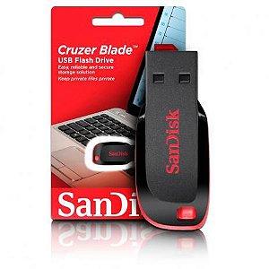 Pen Drive 64GB USB 2.0 Cruzer Blade Sandisk