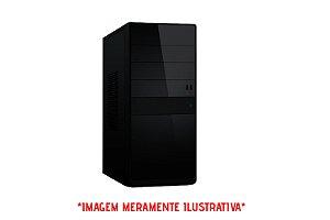 Computador Intel Core I3 6100 3.7GHz + Placa Mãe Gigabyte GA-110M-H + Memória 4GB DDR3 + SSD 120GB