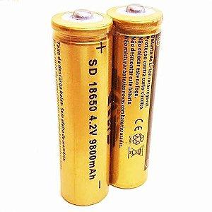 Bateria Recarregável 18650 1.4V 9800mAh