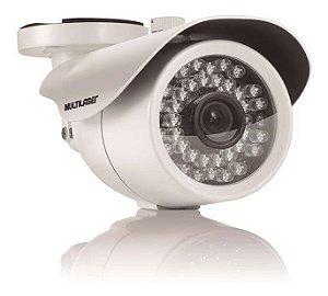 Câmera Bullet Infra Vermelho HD IP66 30m 3.6mm SE014 Multilaser