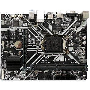 Placa Mãe LGA 1151 H310G Micro ATX 8°/9° Ger. 32GB GIGABIT HDMI/VGA IPMH310G PCWARE