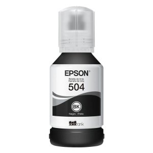 Refil de Tinta Epson Preto 504 T504120 127ml