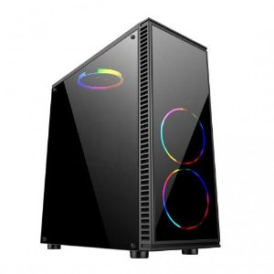 Gabinete Gamer Mid Tower Preto BG-014 Bluecase
