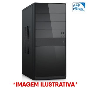 Computador Intel Pentium G2020 + Placa Mãe TCN H61 + Memória 4GB DDR3 + HD 320GB