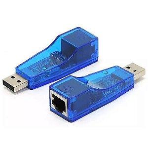 Placa de Rede Externa USB x RJ45 UL-100 Exbom