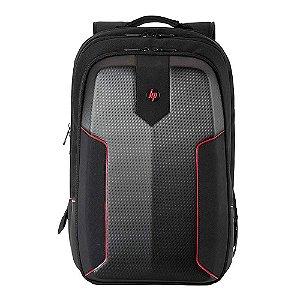"Mochila Gamer para Notebook 15.6"" Hard Case Preto Vermelho 3EJ61LA HP"