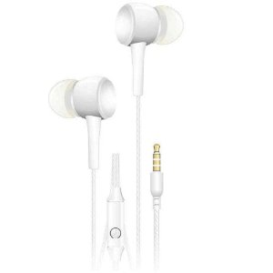 Fone de Ouvido Branco Intra Auricular c/Microfone EP-02 C3Plus