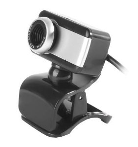Webcam BrazilPC V4 640p c/Microfone USB P2