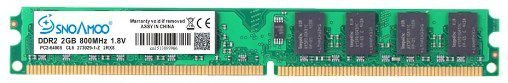 Memoria DDR2 2GB 667MHz Snoamoo