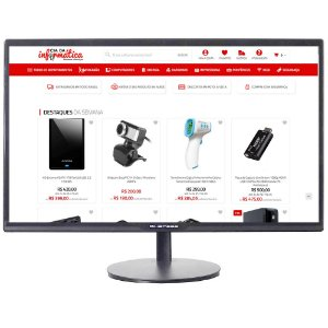 "Monitor LED 23.8"" VGA HDMI 3ms Full HD 1080p BMB24X1 Bluecase"