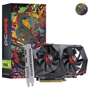 Placa de Vídeo GeForce GTX 1050Ti 4GB GDDR5 128bits Grafiti Edition PCYes
