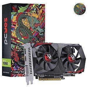 Placa de Vídeo GeForce GTX 1050Ti 4GB GDDR5 128bits Grafiti Edition PCYes