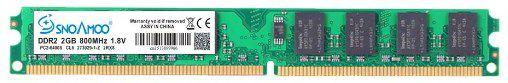 Memoria DDR2 2GB 800MHz Snoamoo