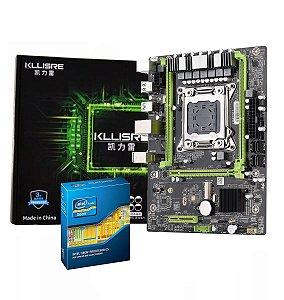 Kit Lga 2011 Kllisre X79 M2 Atx + Xeon E5-2687wv2 3.40ghz