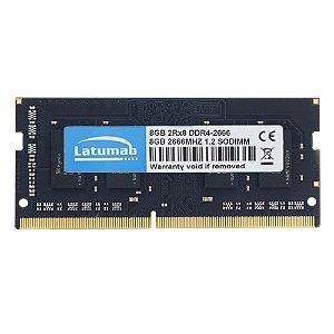 Memoria Notebook DDR4 8GB 2666MHz Latumab